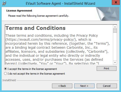 Install Backup Agents   Kb Arubacloud com