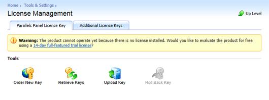 Installing a Plesk license | Kb Arubacloud com